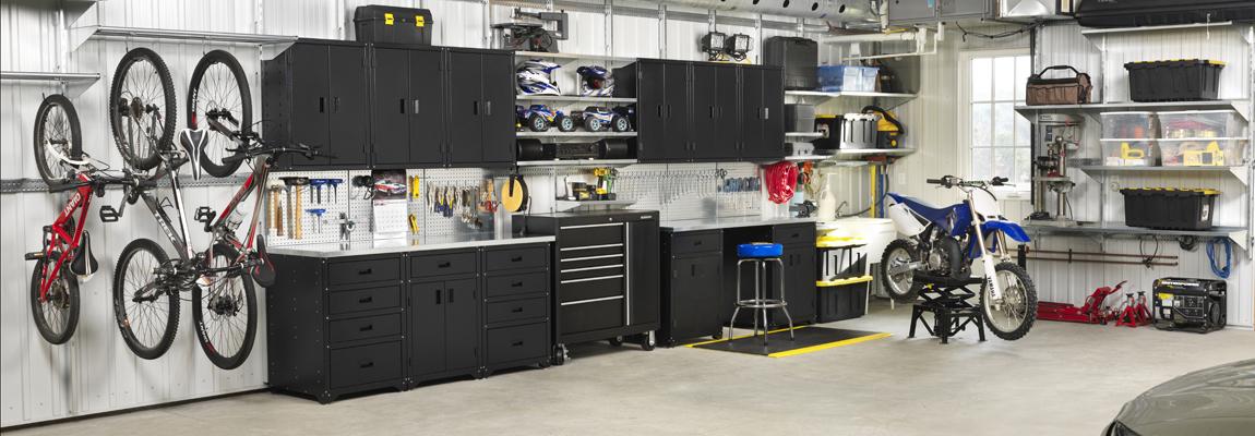 The Modular Wall Mount Garage Storage System